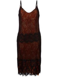кружевное платье Maurizio Pecoraro