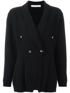 shawl lapel double-breasted cardigan Francesco Scognamiglio