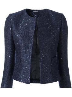 sequin embellished cropped jacket Tagliatore