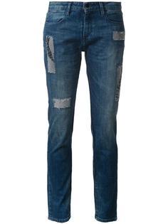 джинсы скинни с пайетками Brocken Bow