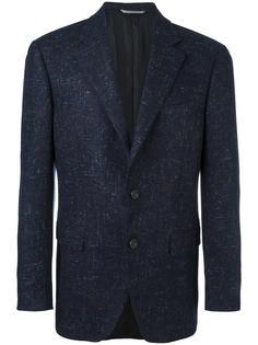 tweed blazer Canali