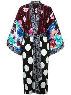 накидка-кимоно с узором Duro Olowu
