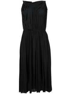 платье со складками Stefano Mortari
