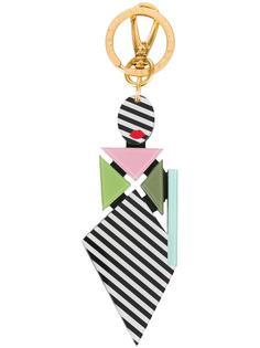 'Pop Out Girl' keyring Lulu Guinness