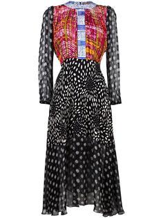 платье-рубашка с узором Duro Olowu