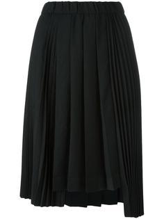 asymmetric pleated skirt Nº21
