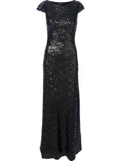 вечернее платье с пайетками Jenny Packham
