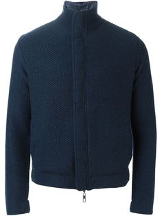 спортивная куртка на молнии Giorgio Armani