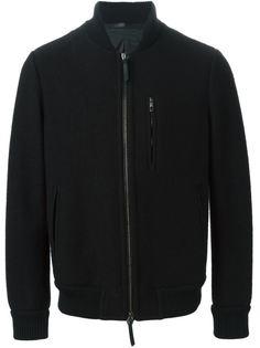 куртка-бомбер на молнии Giorgio Armani