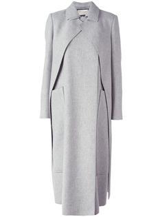 long layered coat Maison Rabih Kayrouz