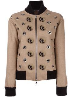 куртка бомбер с аппликацией Maurizio Pecoraro