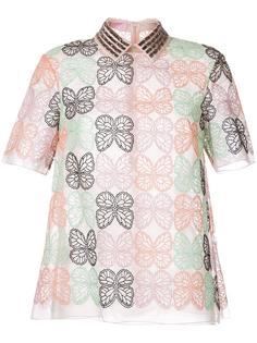 рубашка с вышивкой  Giamba