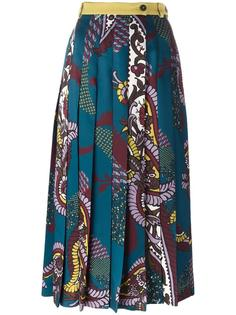 printed pleated skirt Antonio Marras
