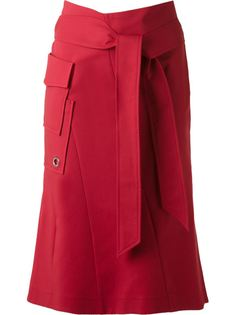 panelled mid-length skirt Giuliana Romanno