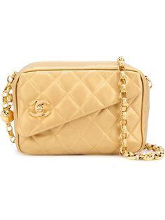 маленькая квадратная сумка через плечо   Chanel Vintage