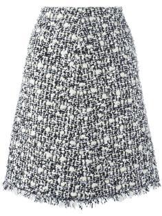юбка с бахромой Giambattista Valli