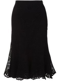 mesh overlay skirt Derek Lam