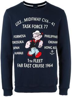 Popeye print sweatshirt +People