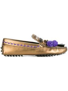 tassel loafers Tod's