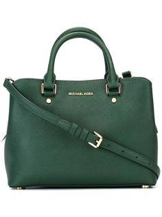 маленькая сумка-тоут 'Savannah' Michael Michael Kors
