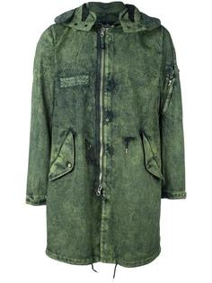 denim parka  Stone Island Shadow Project