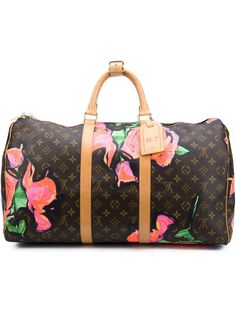 дорожная сумка 'Roses Keepall 50' Stephen Sprouse x Louis Vuitton Louis Vuitton Vintage