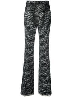 расклешенные брюки с открытой строчкой Giambattista Valli