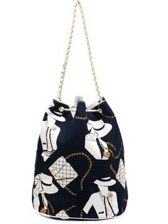 большая сумка-мешок 'Coco' Chanel Vintage