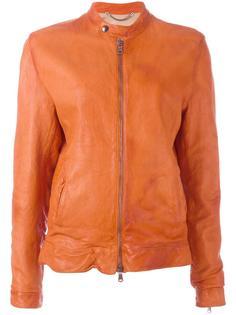 куртка на молнии с эффектом помятости Pihakapi