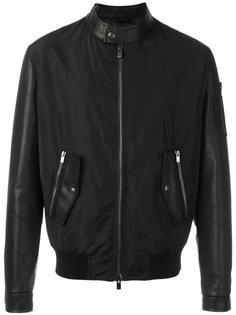contrast bomber jacket Drome