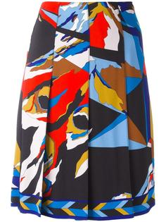 printed pleated skirt Emilio Pucci