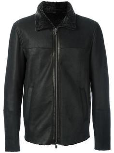 zipped lambksin jacket Drome