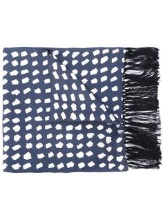 printed scarf E. Tautz