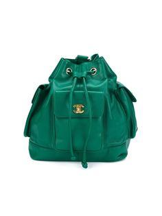 рюкзак-мешок на шнурке Chanel Vintage