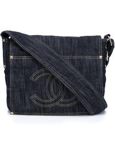 джинсовая сумка с логотипом Chanel Vintage