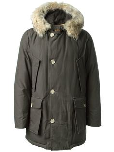 дутая куртка с капюшоном Woolrich