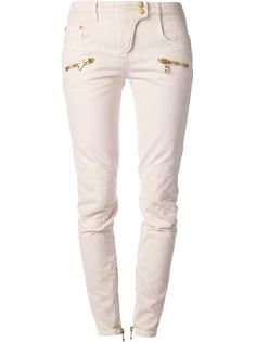 узкие джинсы скинни Balmain