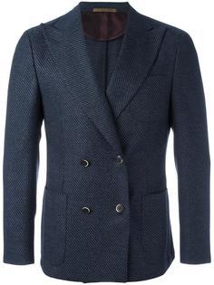 double breasted blazer Corneliani