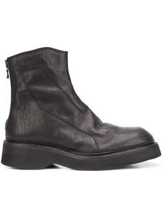 back zip ankle boots Julius