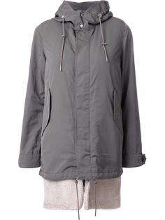 concealed fastening hooded coat Guild Prime