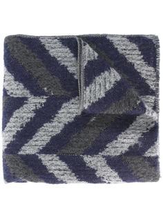 chevron print scarf Al Duca D'Aosta 1902