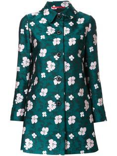 floral print mid coat Loveless