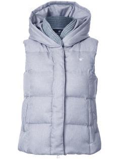 padded hooded gilet Loveless