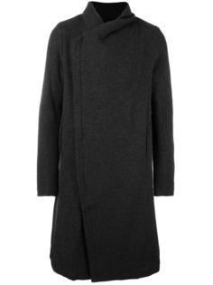 пальто со смещенной застежкой-молнией Poème Bohémien
