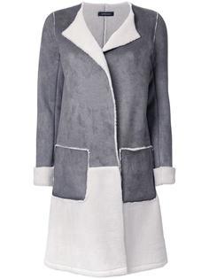 open colour block coat Loveless
