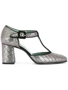 туфли-лодочки с Т-образной планкой Paola D'arcano