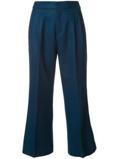 flared cropped trousers Loveless