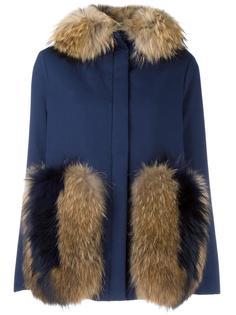 'Wisteria' parka coat Ava Adore