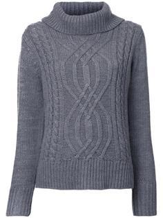 cable knit turtleneck jumper Guild Prime