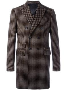 Embroidered wool coat Tonello